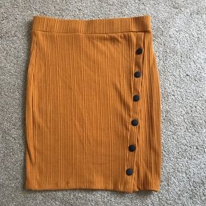 Golden Yellow Skirt- Never Been Worn